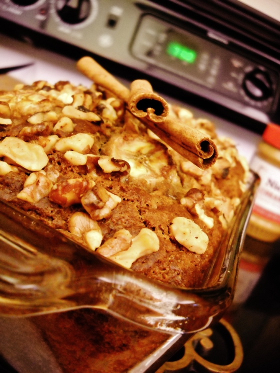 Sweet Banana Nut Bread